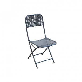 Ispra folding chair by Greenwood in iron for outdoor
