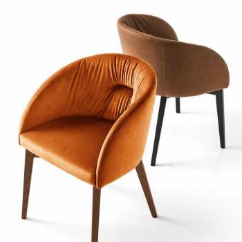 Rosie soft chair Connubia Calligaris