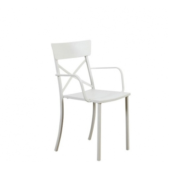 Vermobil Mogan chair with armrests and with cross