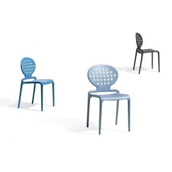 Colette chair by Scab Design Polymer