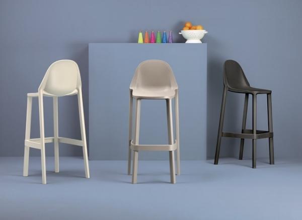 Stool piu scab plastic stackable design