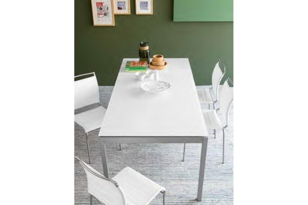 Extendable table 120 cm Snap Connubia by Calligaris