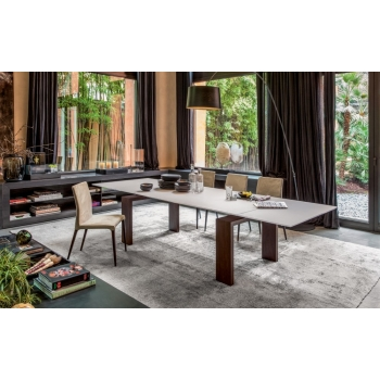 Extendable table 160 cm Brooklyn Tonin Casa