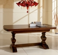 Benedetti classic Rossini table entirely made of wood