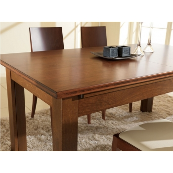 Woody Benedetti classic wood table entirely made of wood