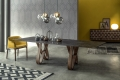 Fixed or extendable Tonin's Butterfly table from Inimitable Design