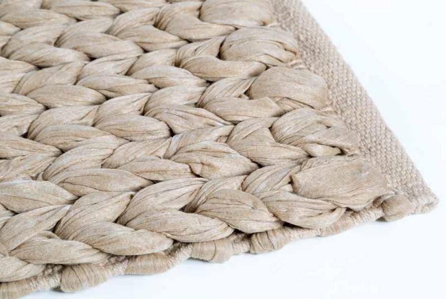 Tapis Cipi Tissu En Coton Et Fibre Naturelle
