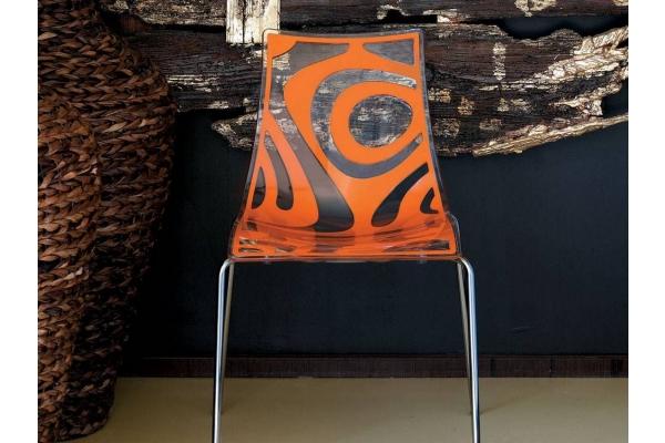 Vague Scab Chaise Design avec 4 pieds