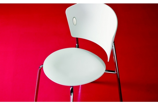 chaise empilable en plastique Gio « Bontempi
