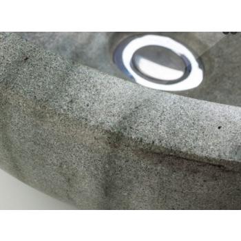 Évier de comptoir en marbre Cipì Dark Emperador Comodo