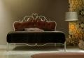 lit fer forgé avec tête de lit rembourrée Norma Cosatto