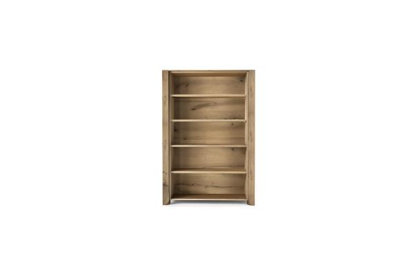 Bibliothèque ouverte en bois