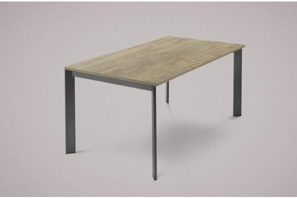 Table extensible offre Univers 130 Domitalia co structure métallique