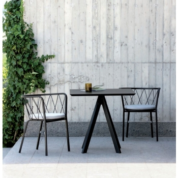 Desmobé fauteuil de Vermobil en fer de jardin