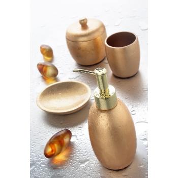 Porta savon d'or