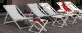 Talents de la ligne de touche Deck Chair pour une utilisation en extérieur moderne