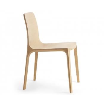 chêne chaise en bois Frida 752 Pedrali