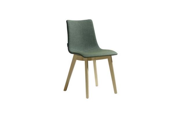Chaise naturel Zebra Pop perche Cadre Scab Design Hêtre