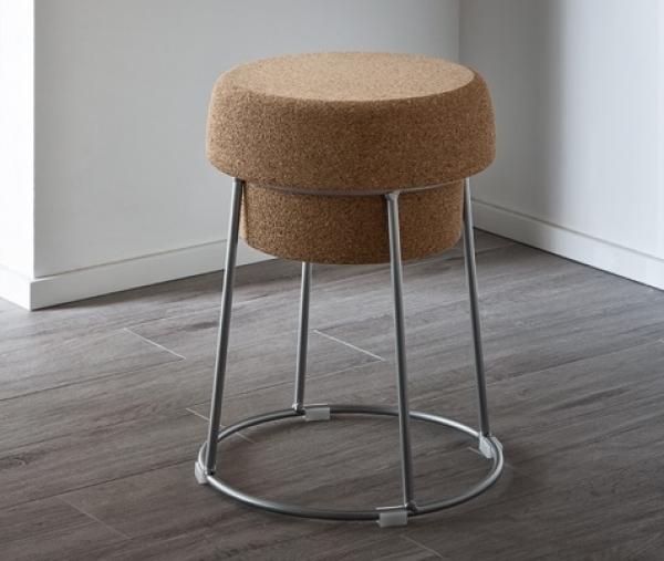 bochon domitalia tabouret avec assise en li ge. Black Bedroom Furniture Sets. Home Design Ideas