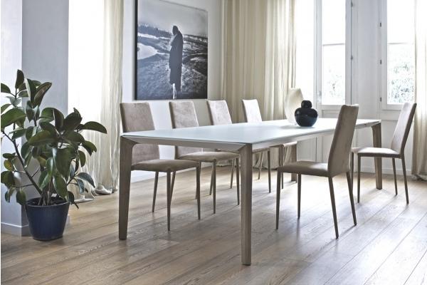 Table à rallonge par Bontempi Versus de 160 cm