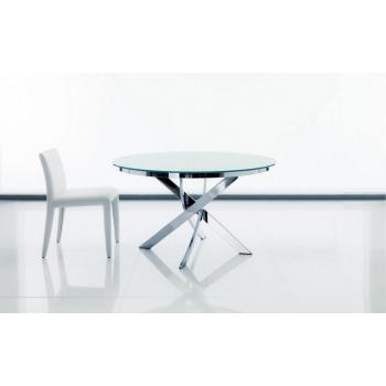 Table fixe par Bontempi Barone ovale