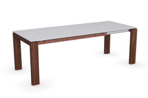 Table Sigma verre 160 Connubia extensible par Calligaris